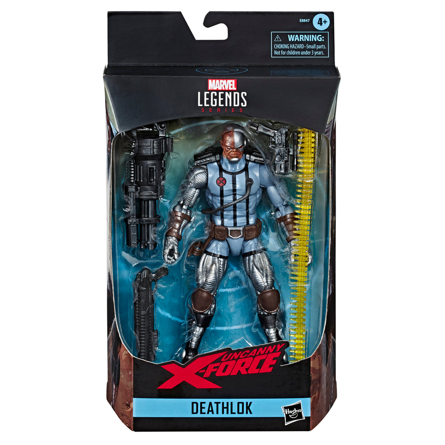 Marvel Legends Series Deathlok Packaging