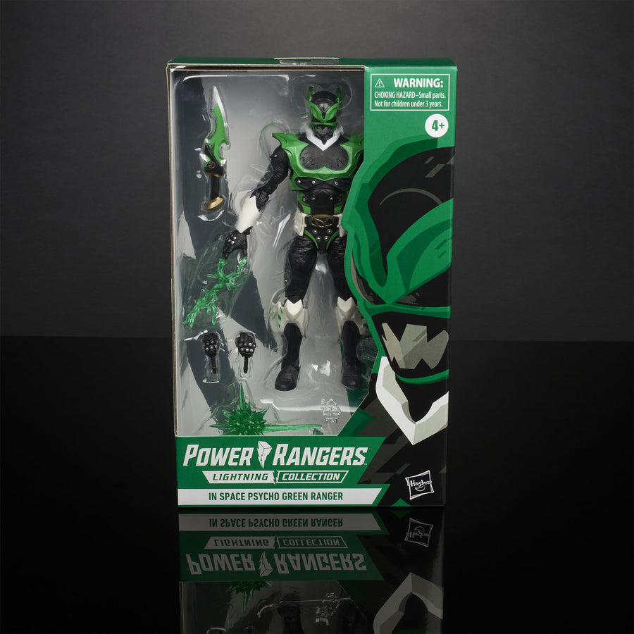 Power Rangers Lightning Collection In Space Psycho Green Ranger (Hasbro Pulse Exclusive)