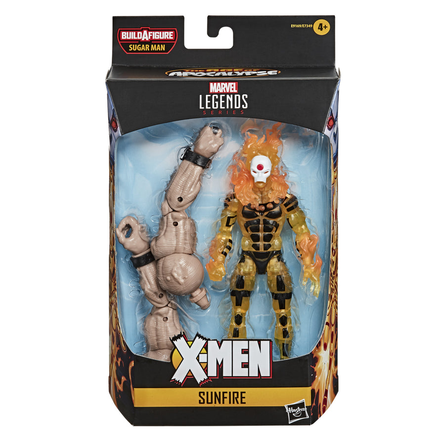 Marvel Legends Series Sunfire X-Men: Age of Apocalypse Figure Packaging