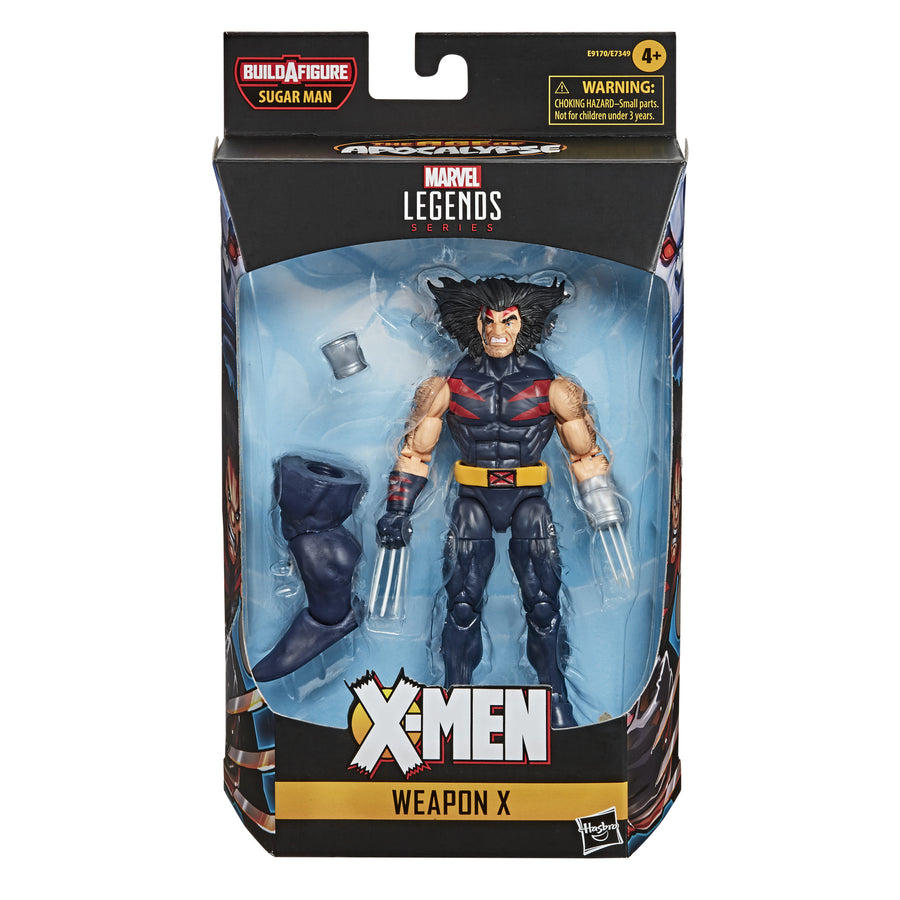 Marvel Legends Series Weapon X X-Men: Age of Apocalypse Figure Packaging