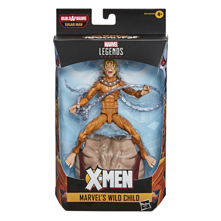 Marvel Legends Series Wild Child X-Men: Age of Apocalypse Figure Packaging