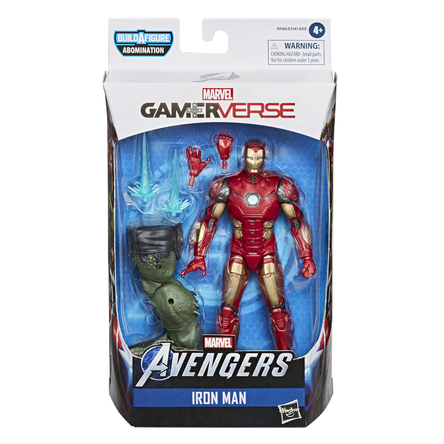 Marvel Legends Series Gamerverse Iron Man Figure Packaging