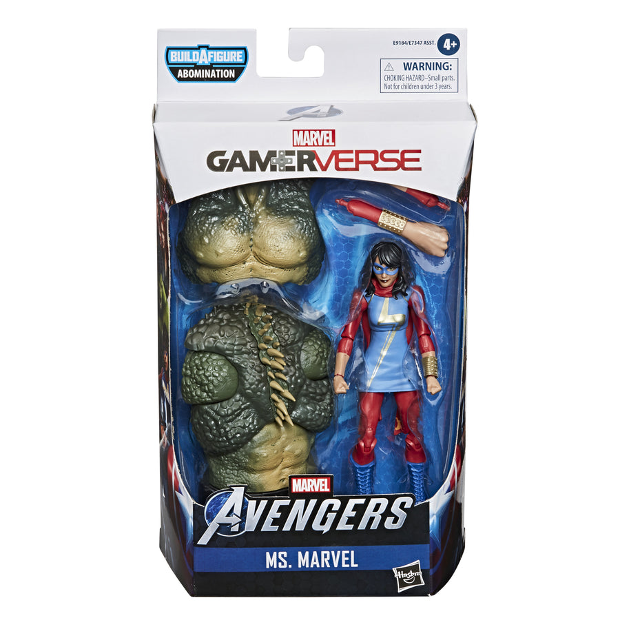 Marvel Legends Series Gamerverse Ms. Marvel Figure Packaging