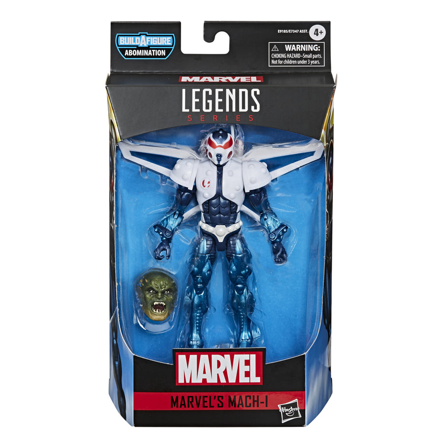 Marvel Legends Series Gamerverse Marvel's Mach-I Figure Packaging