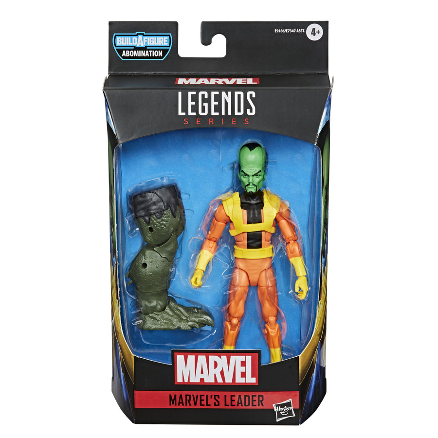 Marvel Legends Series Gamerverse Marvel's Leader Figure Packaging