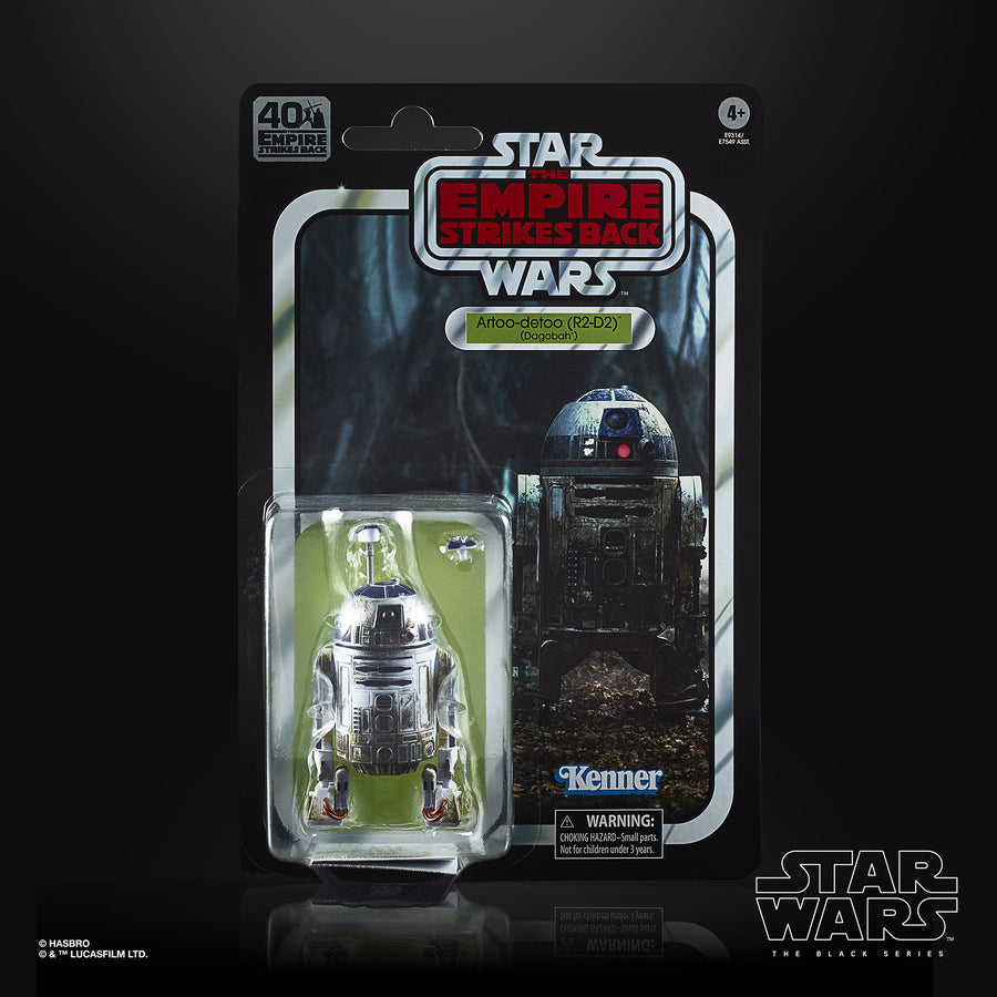Star Wars The Black Series Artoo-detoo (R2-D2) (Dagobah) Figure Packaging