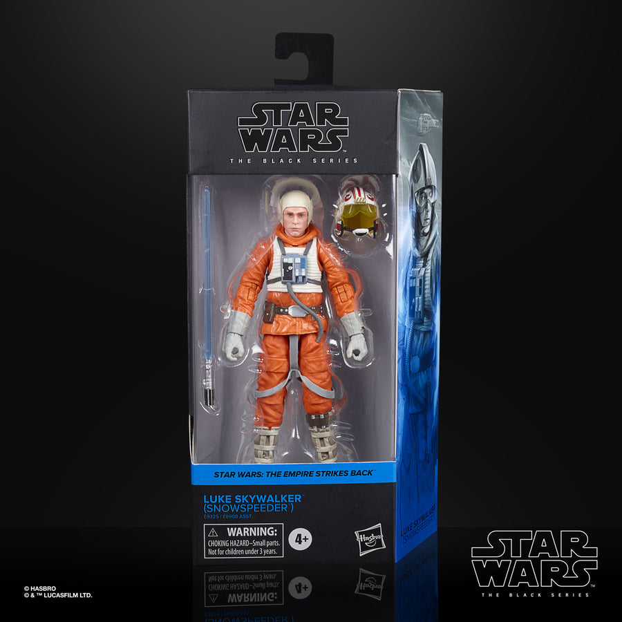 Star Wars The Black Series Luke Skywalker (Snowspeeder) Collectible Figure