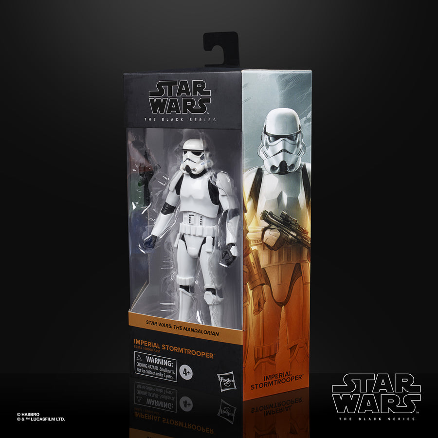 Star Wars The Black Series Imperial Stormtrooper Collectible Figure