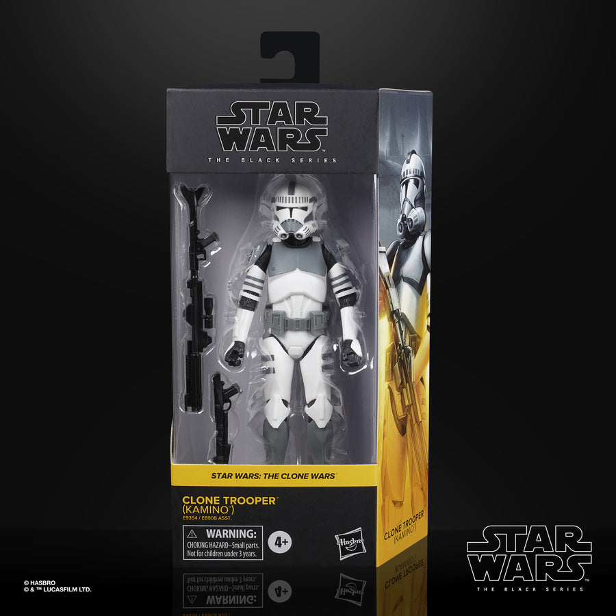 Star Wars The Black Series Clone Trooper (Kamino) Collectible Figure