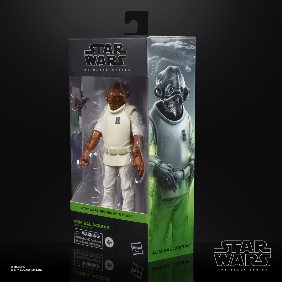Star Wars The Black Series Admiral Ackbar Collectible Figure