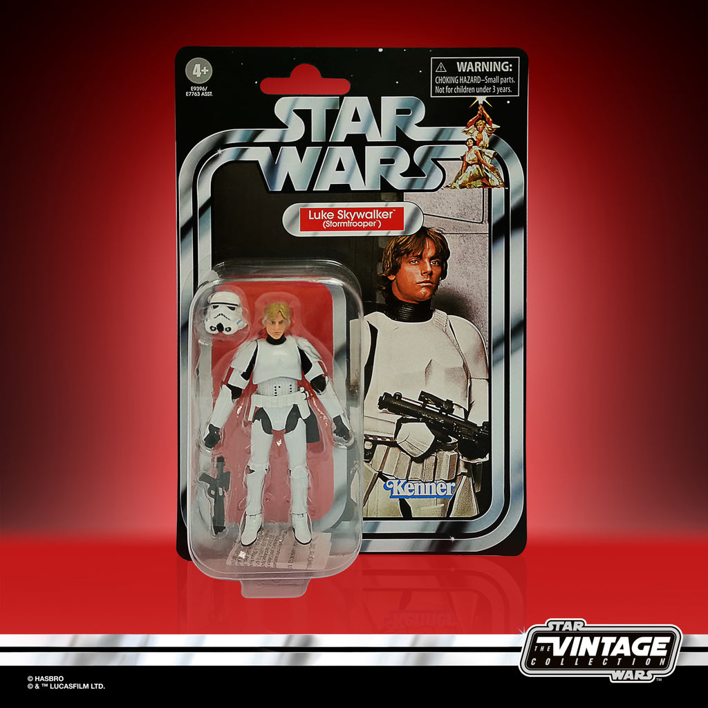 Star Wars The Vintage Collection Luke Skywalker (Stormtrooper) Figure