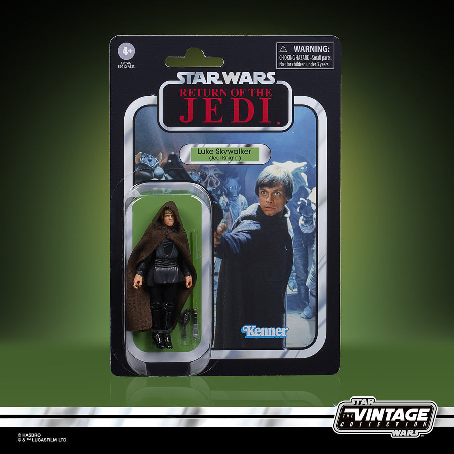 Star Wars The Vintage Collection Luke Skywalker (Jedi Knight) Figure packaging