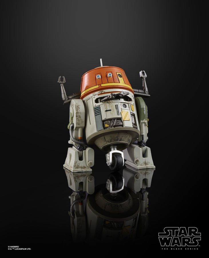 Star Wars The Black Series Chopper (C1-10P) Collectible Figure