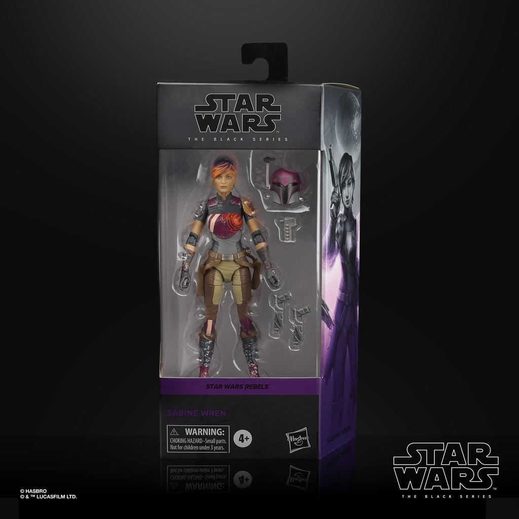 Star Wars The Black Series Sabine Wren Collectible Figure