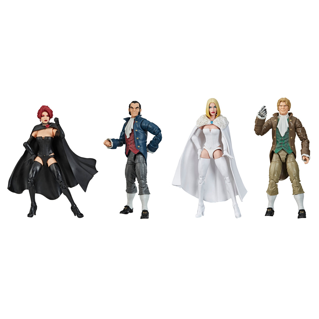 Marvel Legends Series Hellfire Club Collection Figures