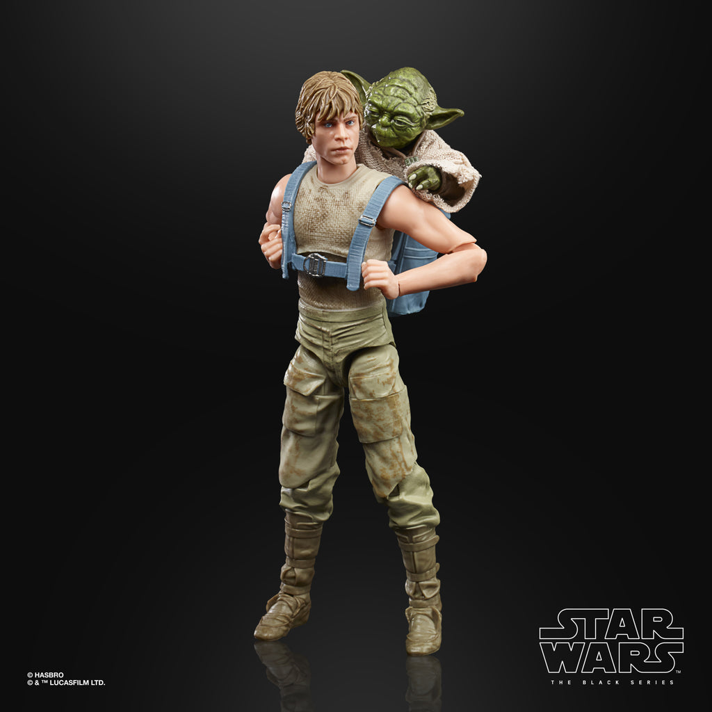 Star Wars The Black Series Luke Skywalker and Yoda (Jedi Training) Figure