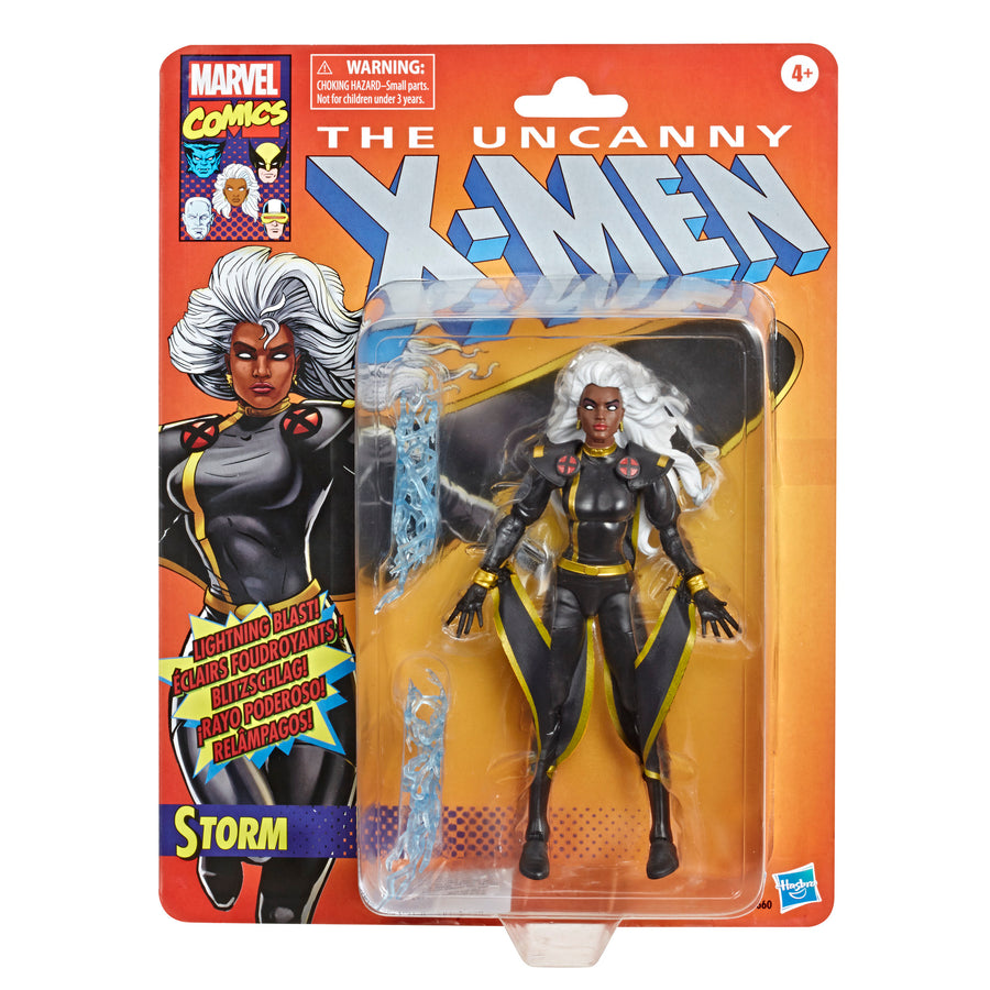 Marvel Retro Collection Storm Figure Packaging