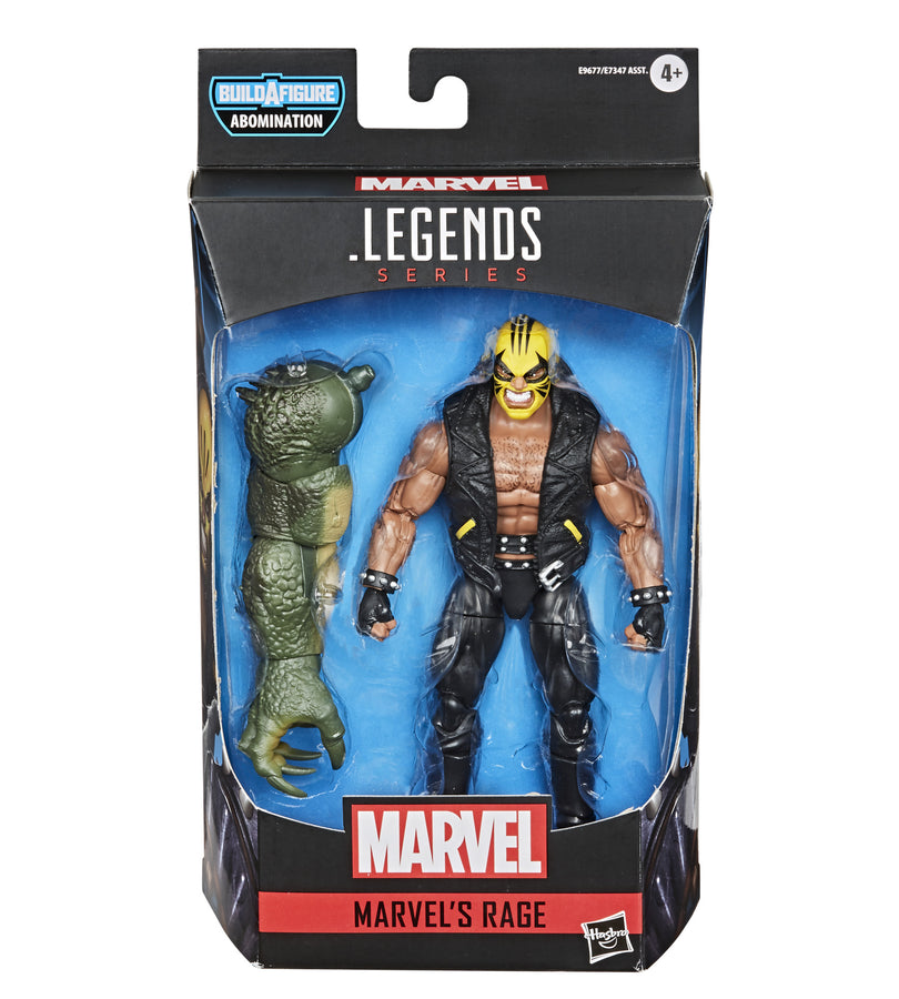 Marvel Legends Series Gamerverse Marvel's Rage Figure Packaging