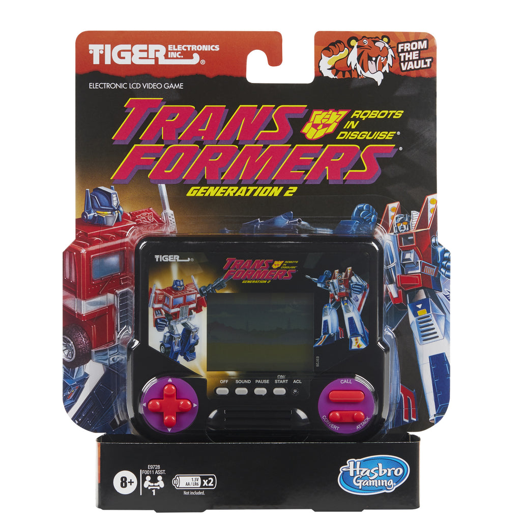Transformers Generation 2 LCD Video Game