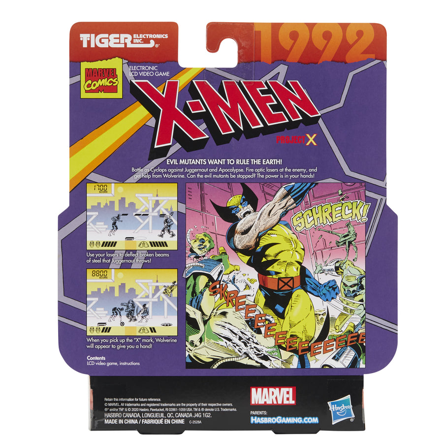 X-Men Project X LCD Video Game