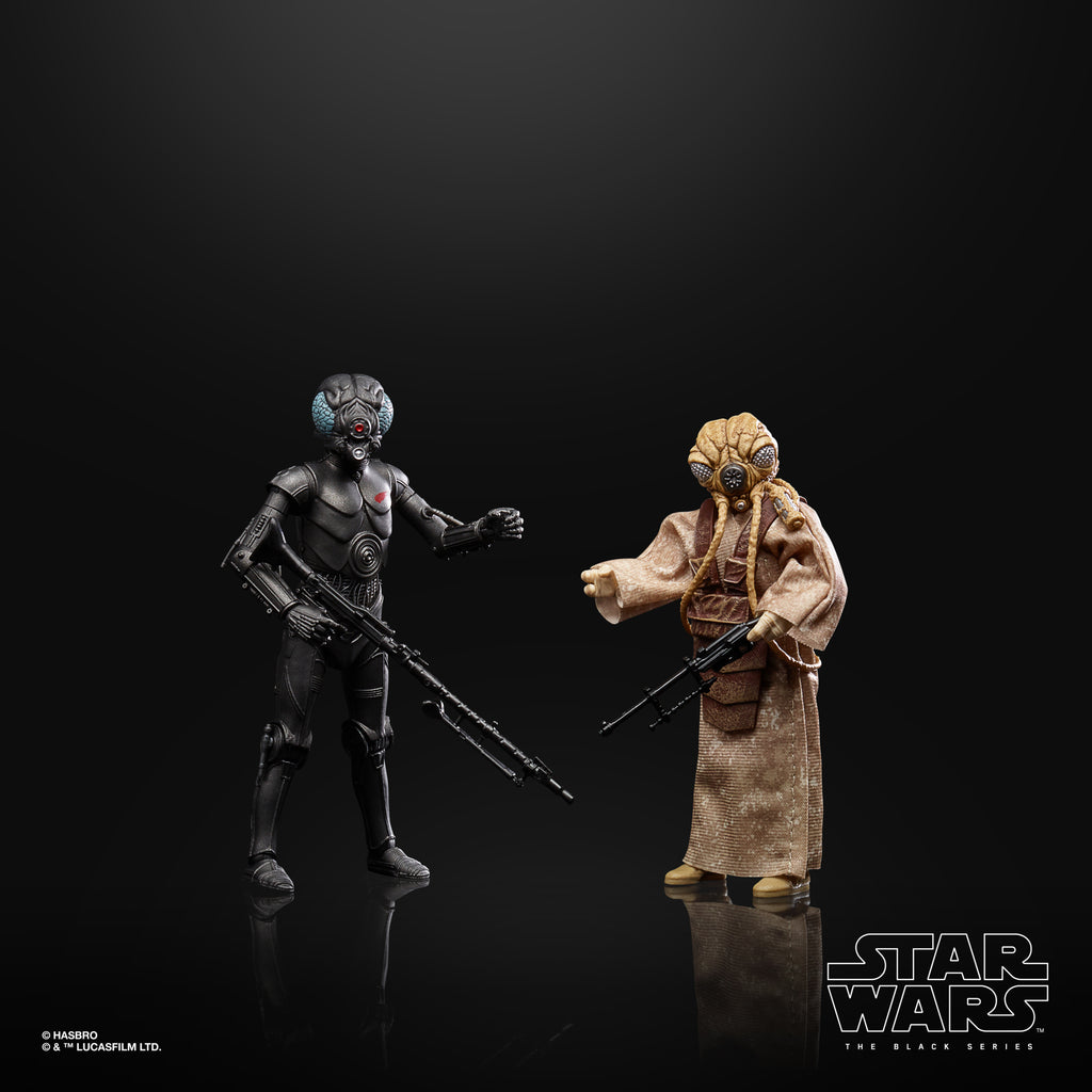 Star Wars The Black Series 4-LOM and Zuckuss Action Figures