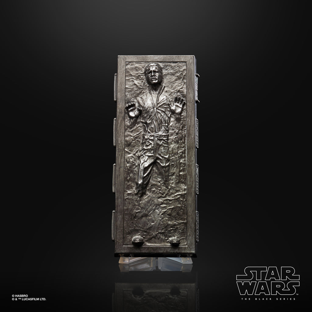 Star Wars The Black Series Han Solo (Carbonite) Figure