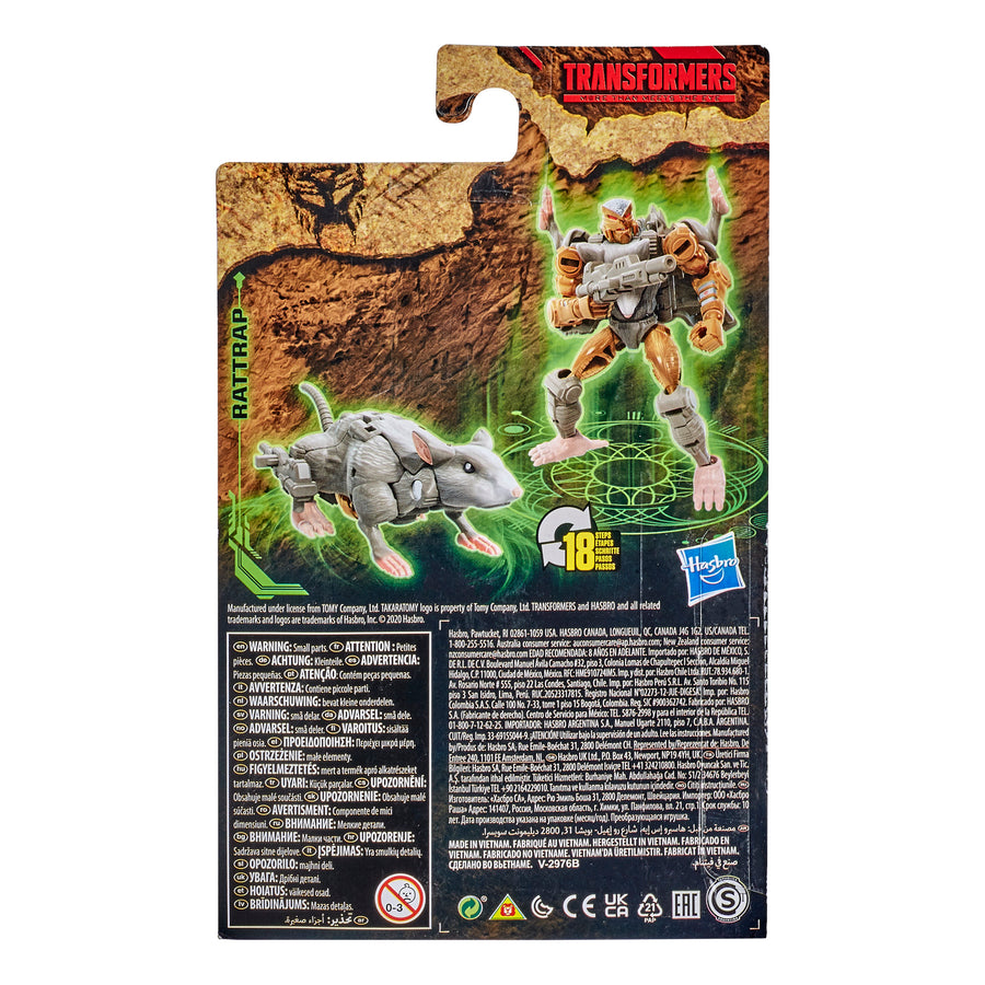 Transformers Generations War for Cybertron: Kingdom Core Class WFC-K2 Rattrap
