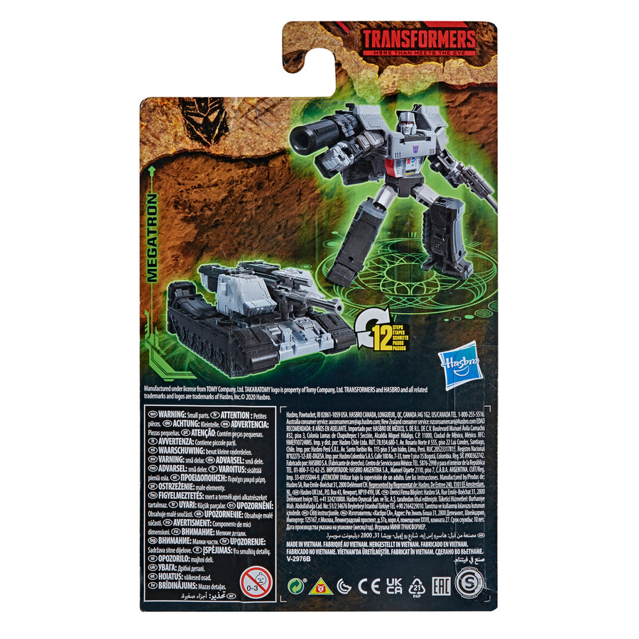 Transformers Generations War for Cybertron: Kingdom Core Class WFC-K13 Megatron