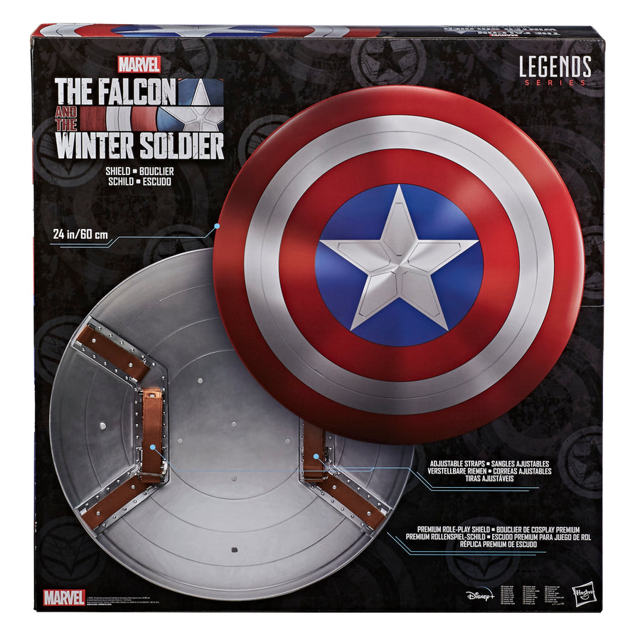 Marvel Legends Falcon and Winter Soldier Captain America Role Play Shield