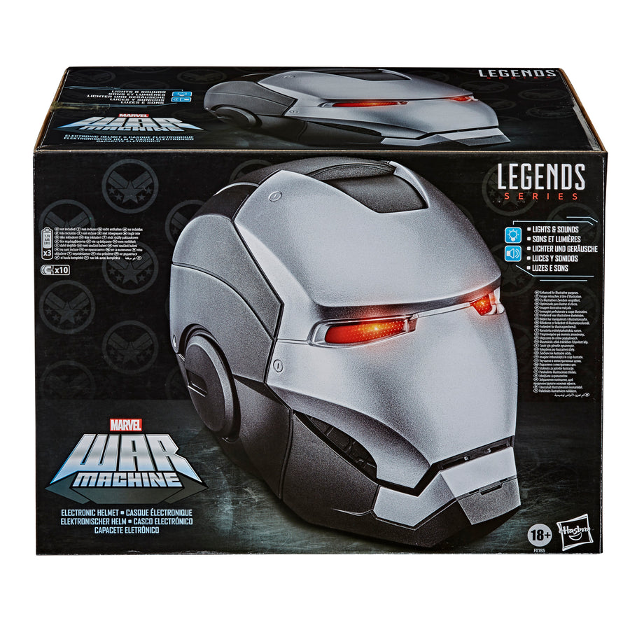 Marvel Legends Series War Machine Electronic Helmet