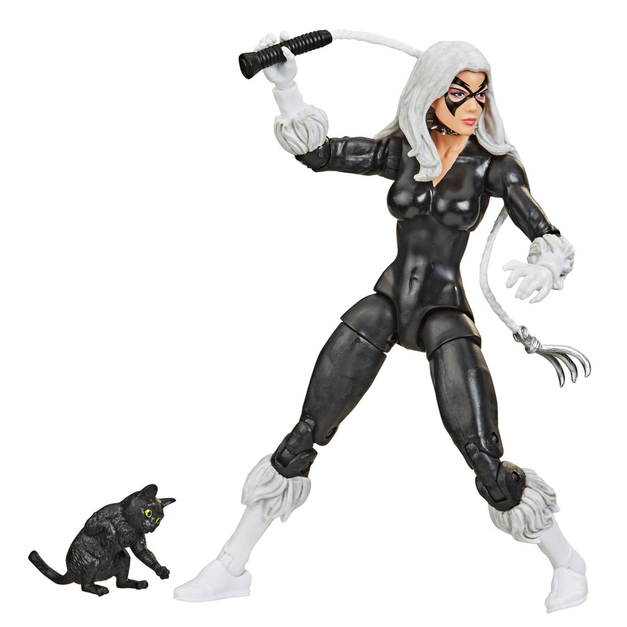 Marvel Legends Retro Black Cat Action Figure