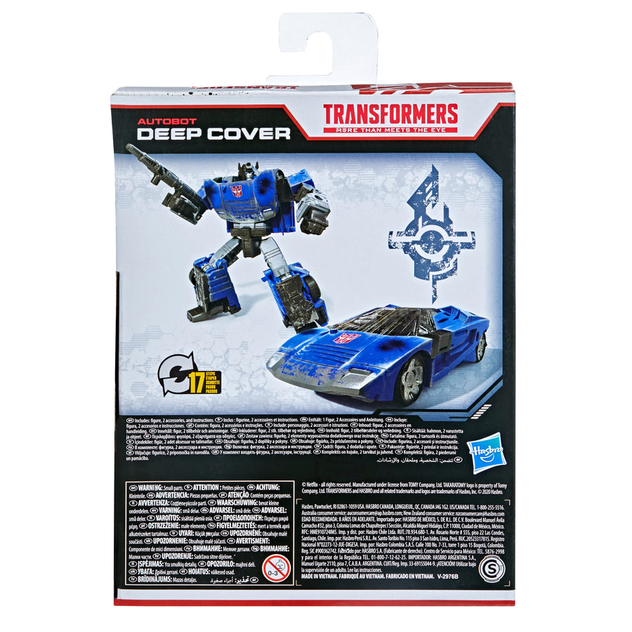Transformers Generations War for Cybertron Series-Inspired Deep Cover