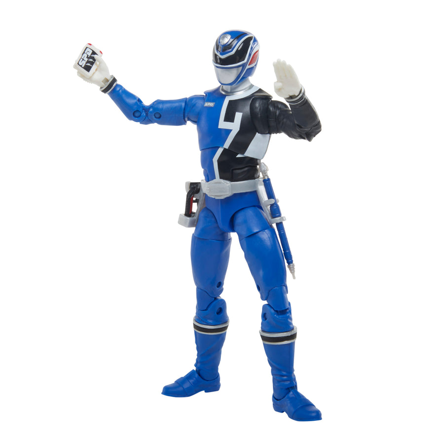 Power Rangers Lightning Collection S.P.D. B-Squad Blue Ranger Versus A-Squad Blue Ranger 2-Pack