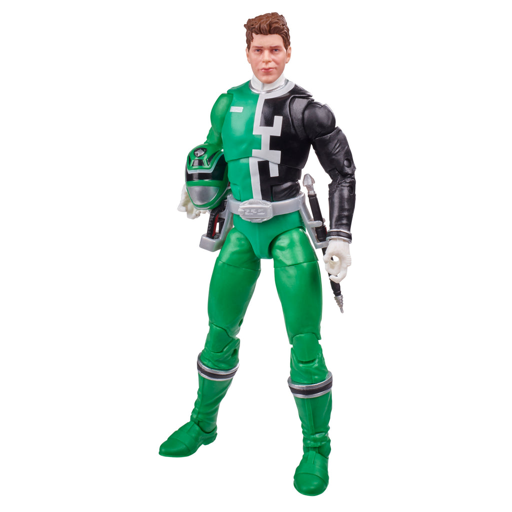 Power Rangers Lightning Collection S.P.D. Green Ranger Figure