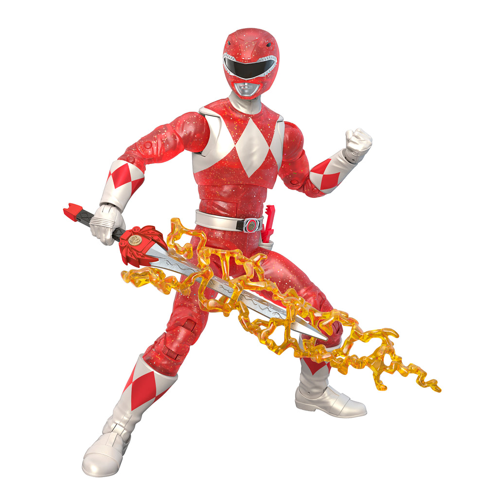 Power Rangers Lightning Collection Mighty Morphin Metallic Red Ranger (Hasbro Pulse Exclusive)