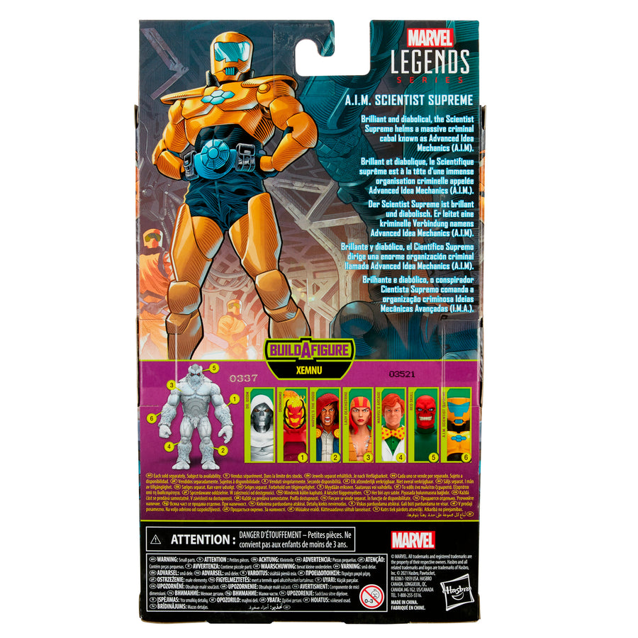 Marvel Legends Series A.I.M. Scientist Supreme