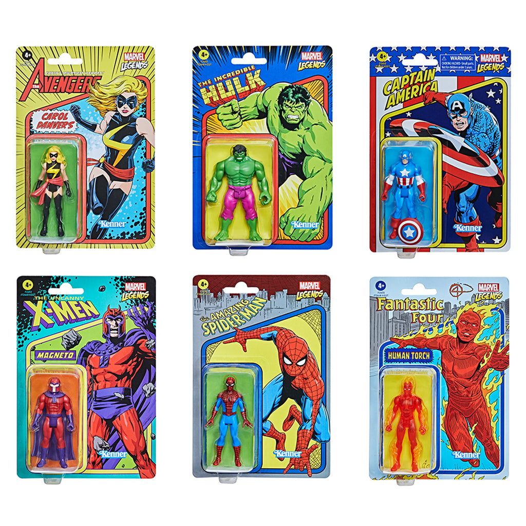 Hasbro Marvel Legends Retro 375 Figures
