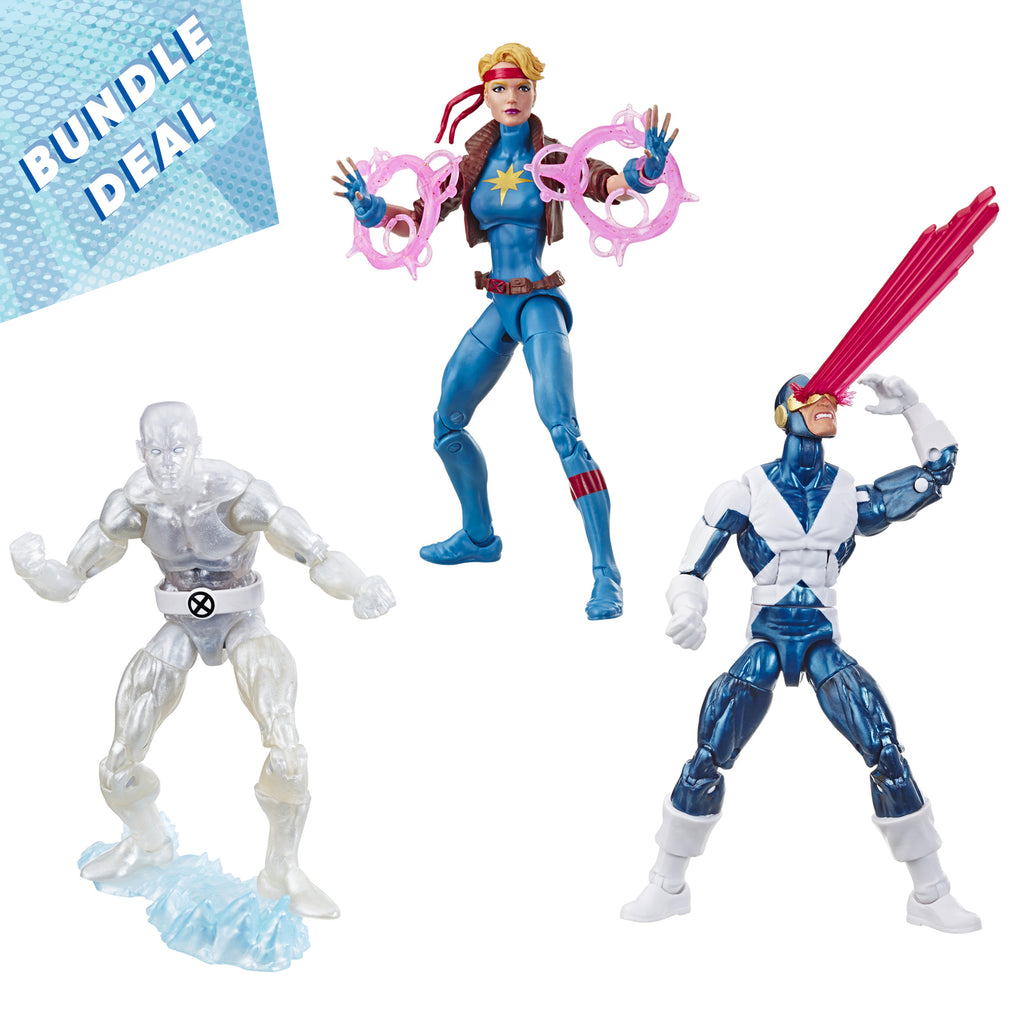 Marvel Legends Series X-Men Retro 3-Figure Special Bundle Deal