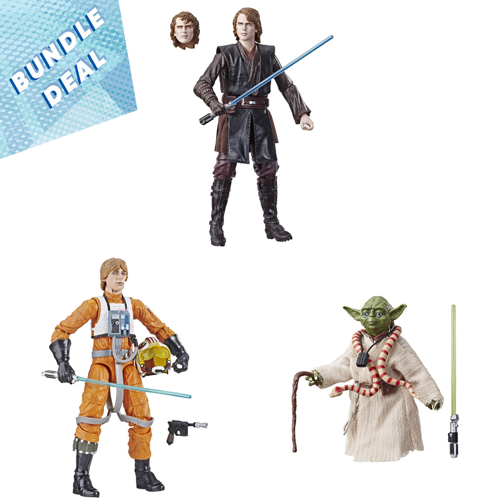 Star Wars The Black Series Archive Collection 3-Figure Special Bundle Deal