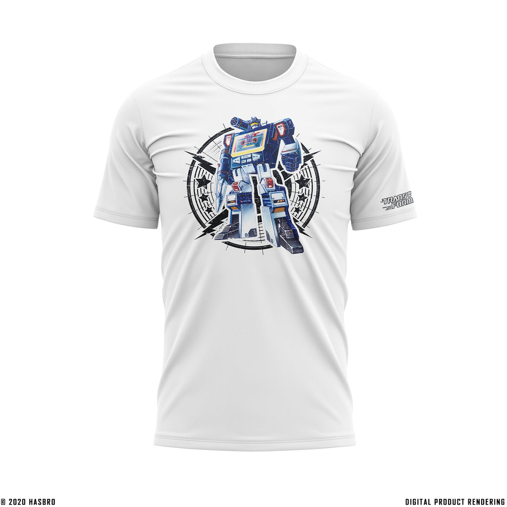 G1-Inspired Soundwave Short-Sleeve Transformers T-Shirt