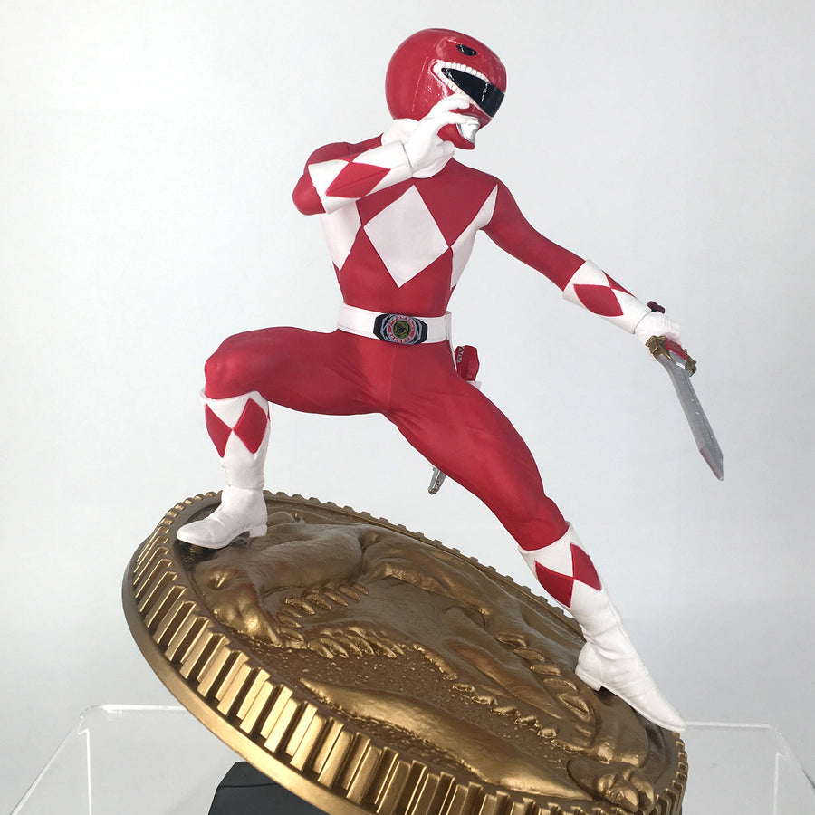 Mighty Morphin Power Rangers Red Ranger Collectible Figure By PCS Collectibles