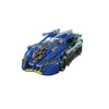 Transformers Studio Series Deluxe Dark of the Moon Topspin Racecar Mode