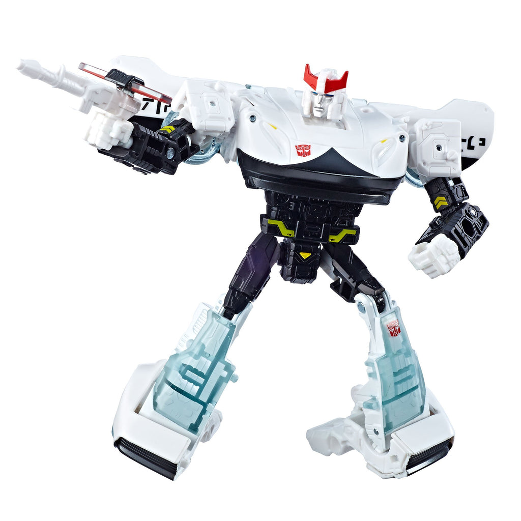 Transformers Generations War for Cybertron Deluxe WFC-S23 Prowl Figure Robot Mode