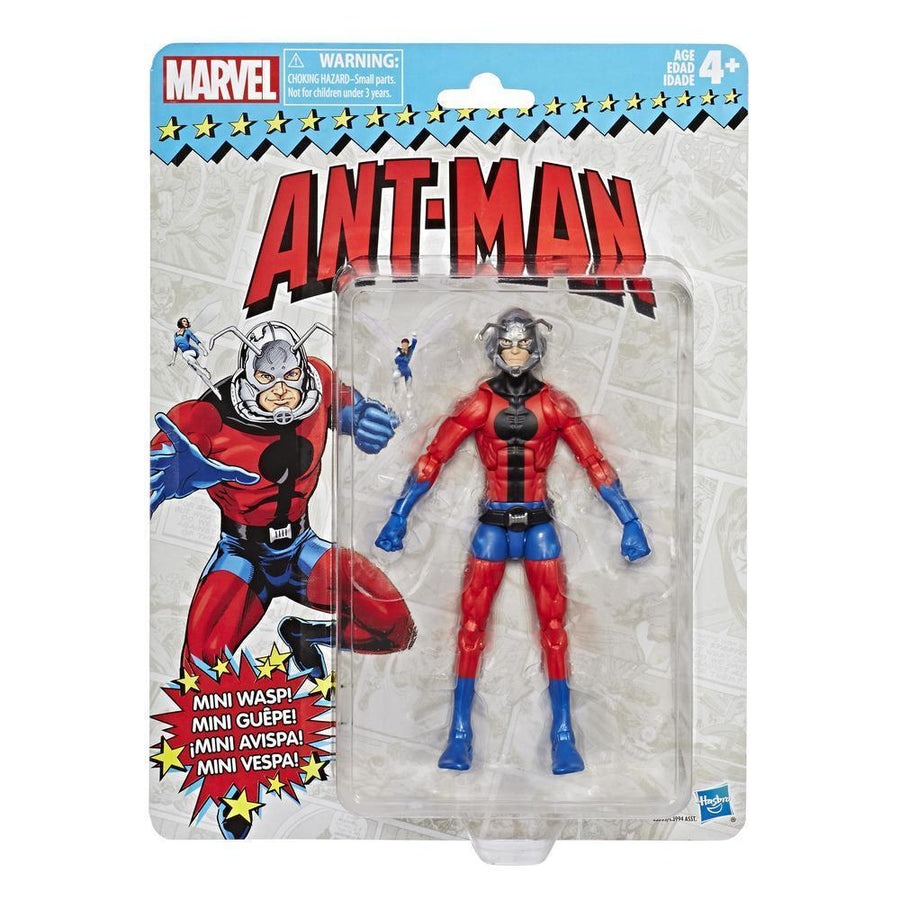 Marvel Retro Collection Ant-Man Figure Packaging