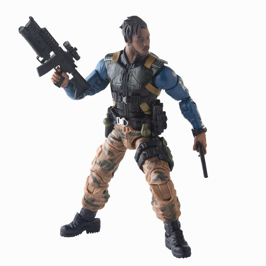 Marvel Legends Series Black Panther Erik Killmonger Figure