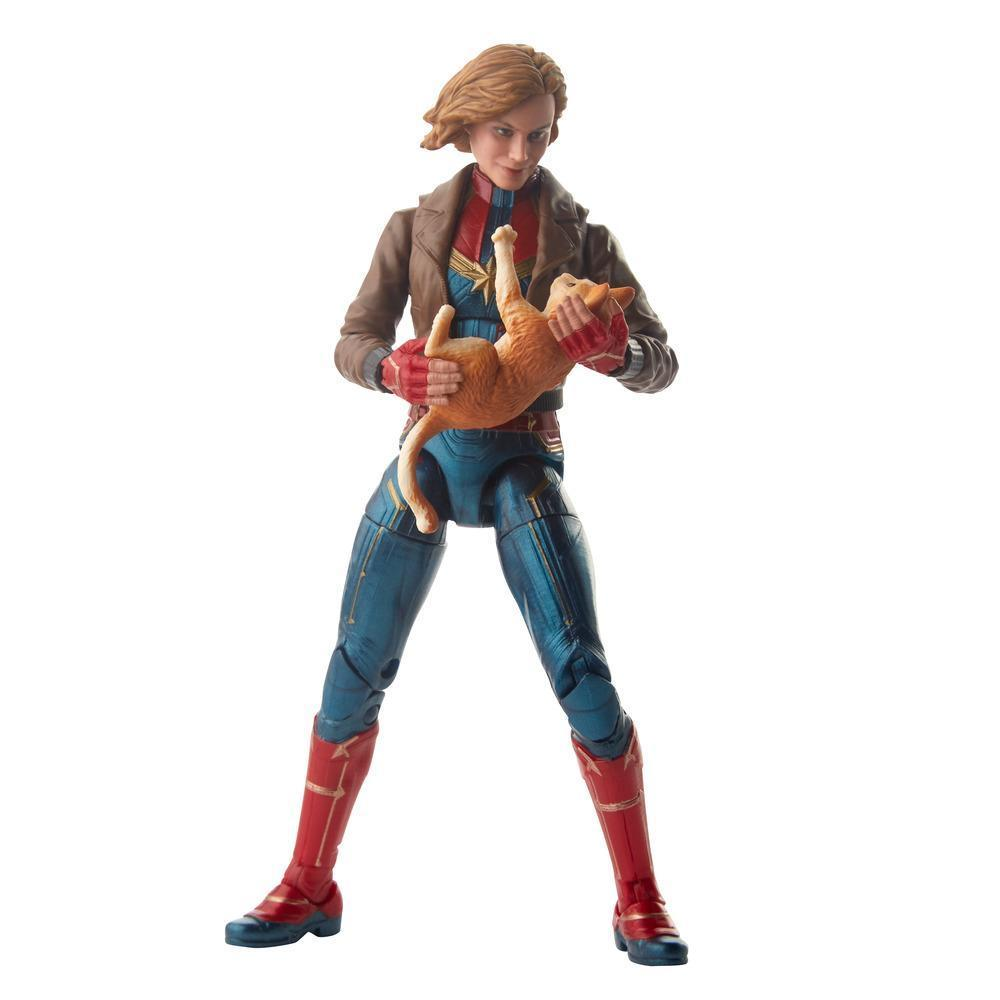 Marvel Legends Series Captain Marvel in Bomber Jacket Figure