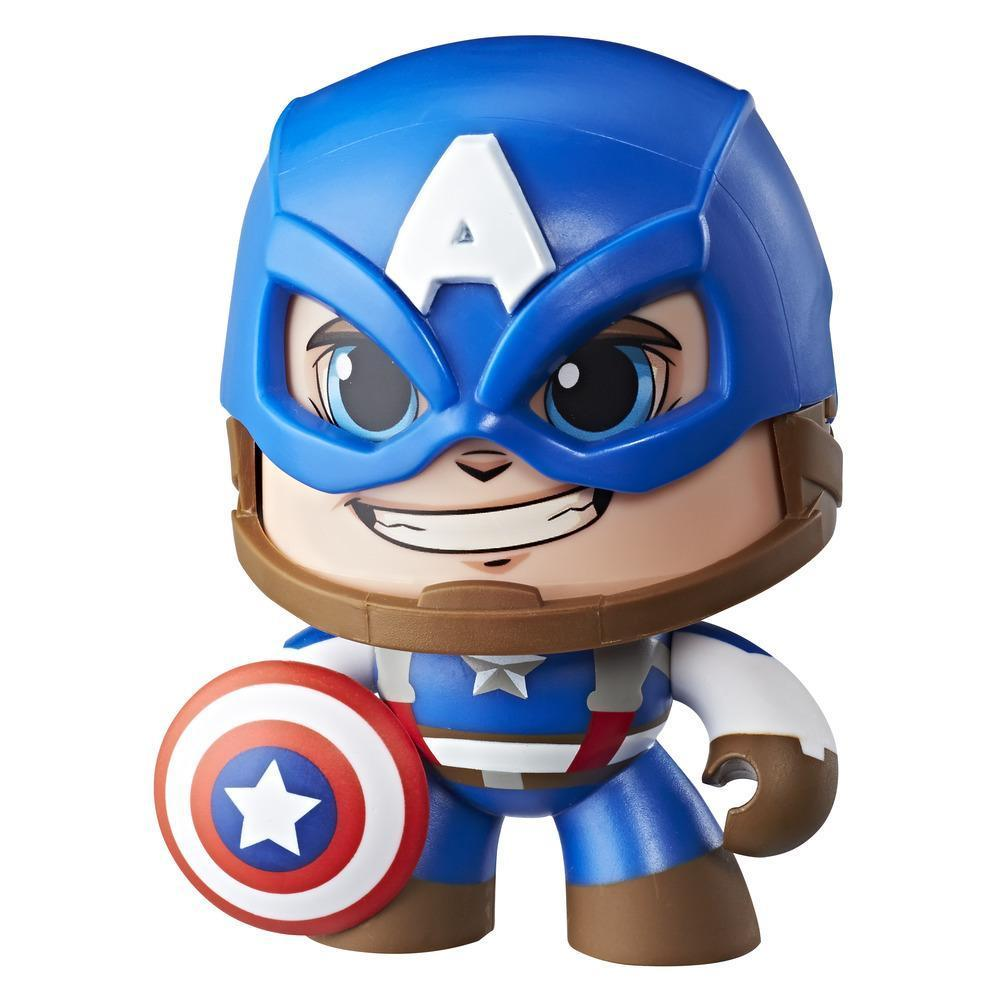 Marvel Mighty Muggs Captain America #1 3.75-inch collectible figure with display case package