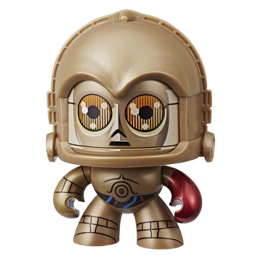 Star Wars Mighty Muggs C-3PO #16 3.75-inch collectible figure with display case package