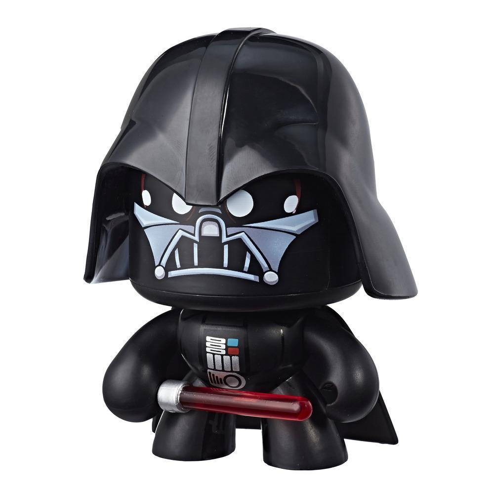 Star Wars Mighty Muggs Darth Vader #1 3.75-inch collectible figure with display case package