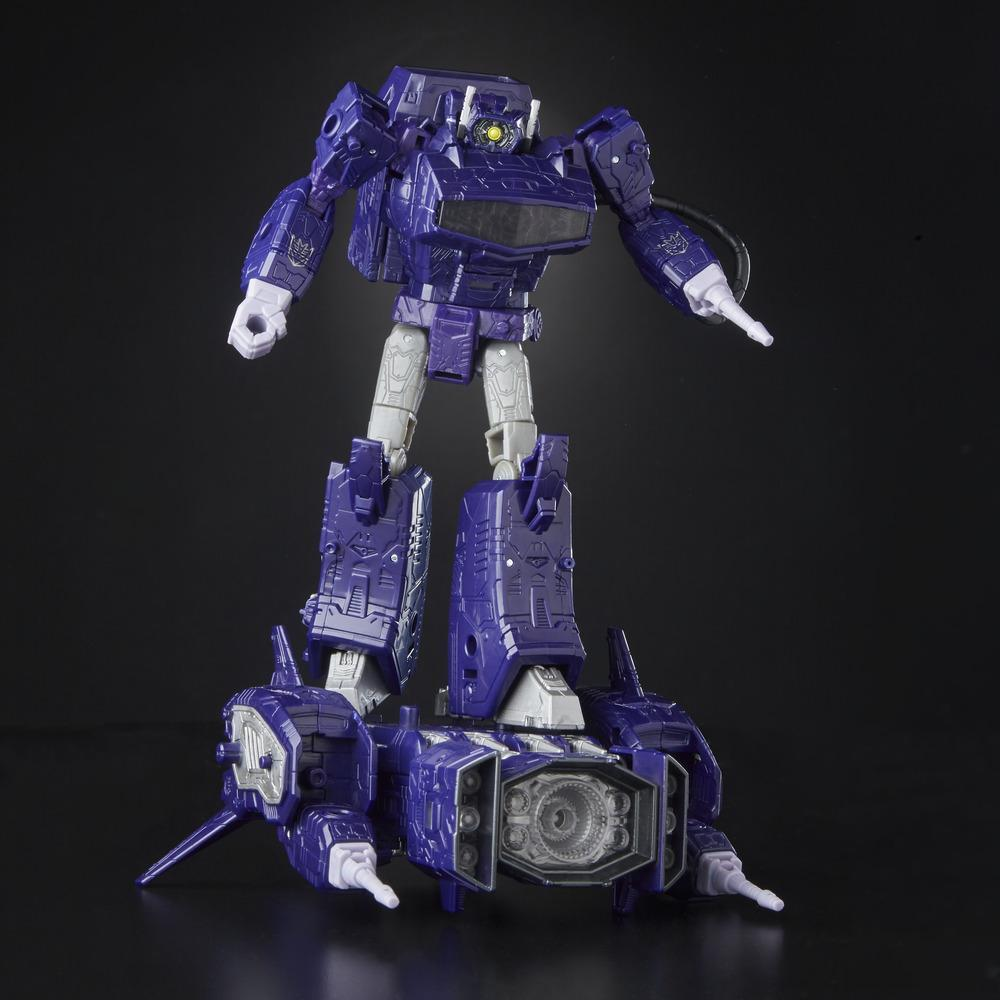 Transformers Generations War for Cybertron: Siege Leader Class WFC-S14 Shockwave Action Figure Bot Mode